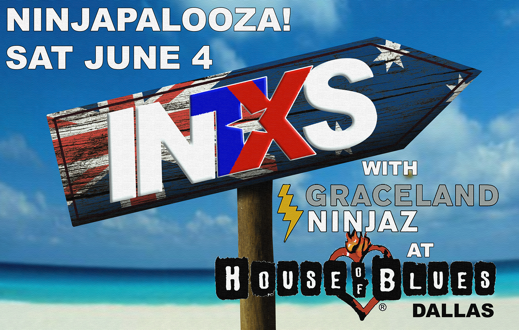 INTXS at Ninjapalooza